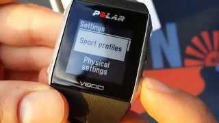 Polar V800 Review functions