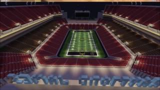 Raymond James Stadium - 2017 CFP Championship - Minecraft Creative Build