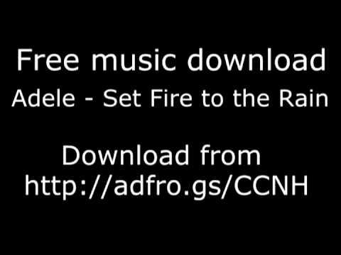 Adele - Set The World On Fire Free Download High Quality 320kbps + Lyrics