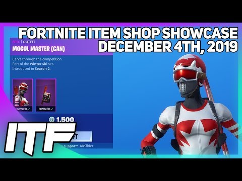 Fortnite Item Shop *RARE* SKI SKINS ARE BACK! [December 4th, 2019] (Fortnite Battle Royale)