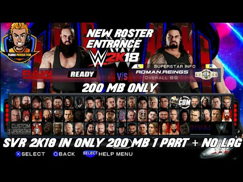 1 2GB] How to Download and Play WWE 2k17 PSP ISO highly