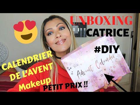 UNBOXING CALENDRIER DE L'AVENT CATRICE #DIY