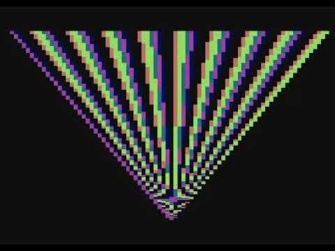 Quatari by Ilmenit / Agenda - 256 bytes intro for Atari 800 XL