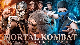 MORTAL KOMBAT EN LA VIDA REAL (SCORPION VS SUB-ZERO) - Changovisión