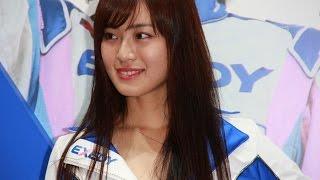 第44回東京モーターショーエクセディブースでEXEDY Racing Girl 1年目...