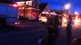 Lisbon Lilac Festival Firetruck Parade