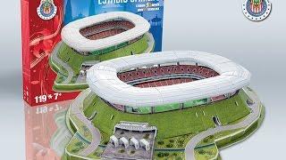 """Estadio Chivas"" del Club Deportivo Guadalajara | Nanostad - Puzzle 3D"