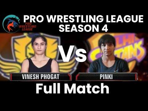 PWL 4 Day 14: Vinesh Phogat vs Pinki| Mumbai Maharathi vs Delhi Sultans | Full Match