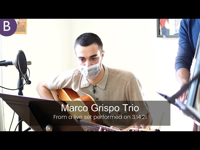Marco Grispo Trio - La Media Pena | Brave Sound Productions