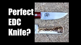 Forging The Perfect EDC Knife: 52100 High Carbon Steel, Every Day Carry, Blacksmithing, Knife making