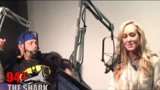 Brandi Love Visits 94.3 The Shark