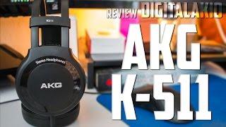 AKG K511 Qualidade de audio para todos - Review