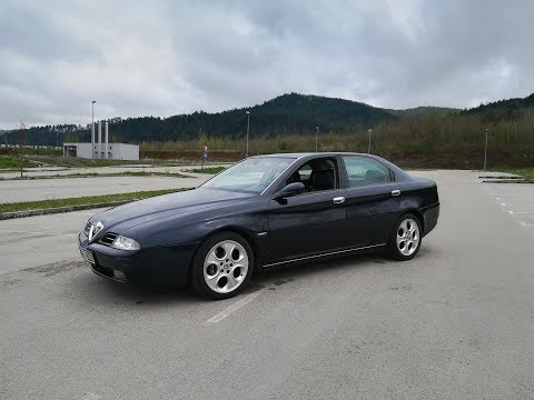 Alfa Romeo 166 2001 TEST - Dostojna Biznis Klase ??? | The Driver