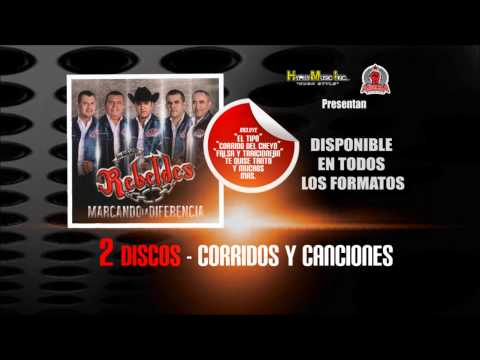 Has Nacido Libre - Los Nuevos Rebeldes....(2 Discos-CorridosYCanciones)