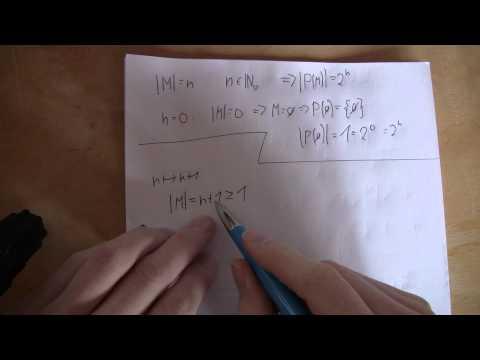 Mathematik - Anzahl der Teilmengen einer Menge