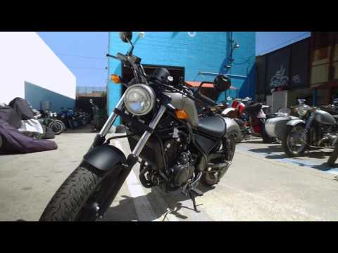 Honda Rebel Road Test