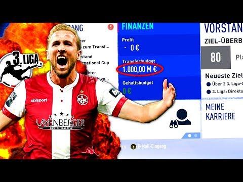 fifa-19-:-3.-liga-mit-1-milliarde-euro-budget-!!!-💰😱-kaiserslautern-special-sprint-to-glory