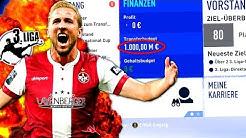 FIFA 19 : 3. LIGA MIT 1 MILLIARDE EURO BUDGET !!! 💰😱 Kaiserslautern Special Sprint To Glory