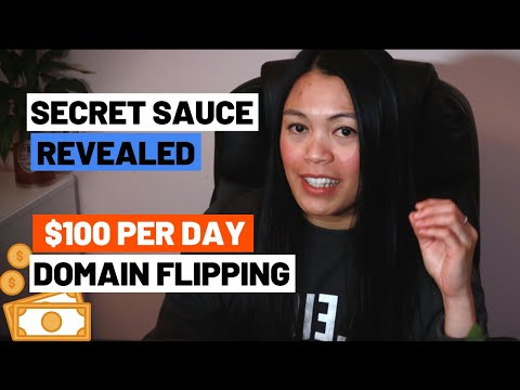 Secret Revealed - How To Make $100 Per Day With Domain Flipping (Domaining)