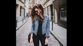 outfits with denim jackets
