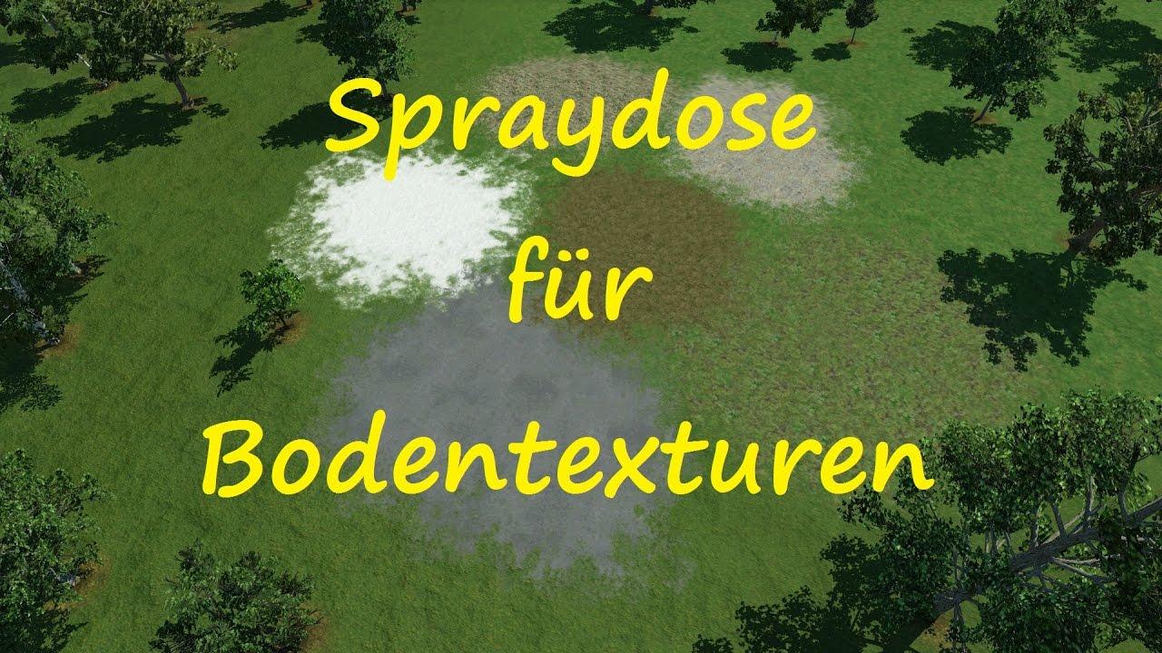 Transport Fever Modvorstellung Spraydose Fur Bodentexturen Youtube