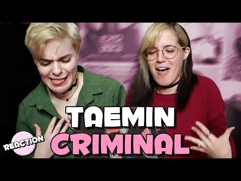 TAEMIN (태민) - CRIMINAL ★ MV REACTION