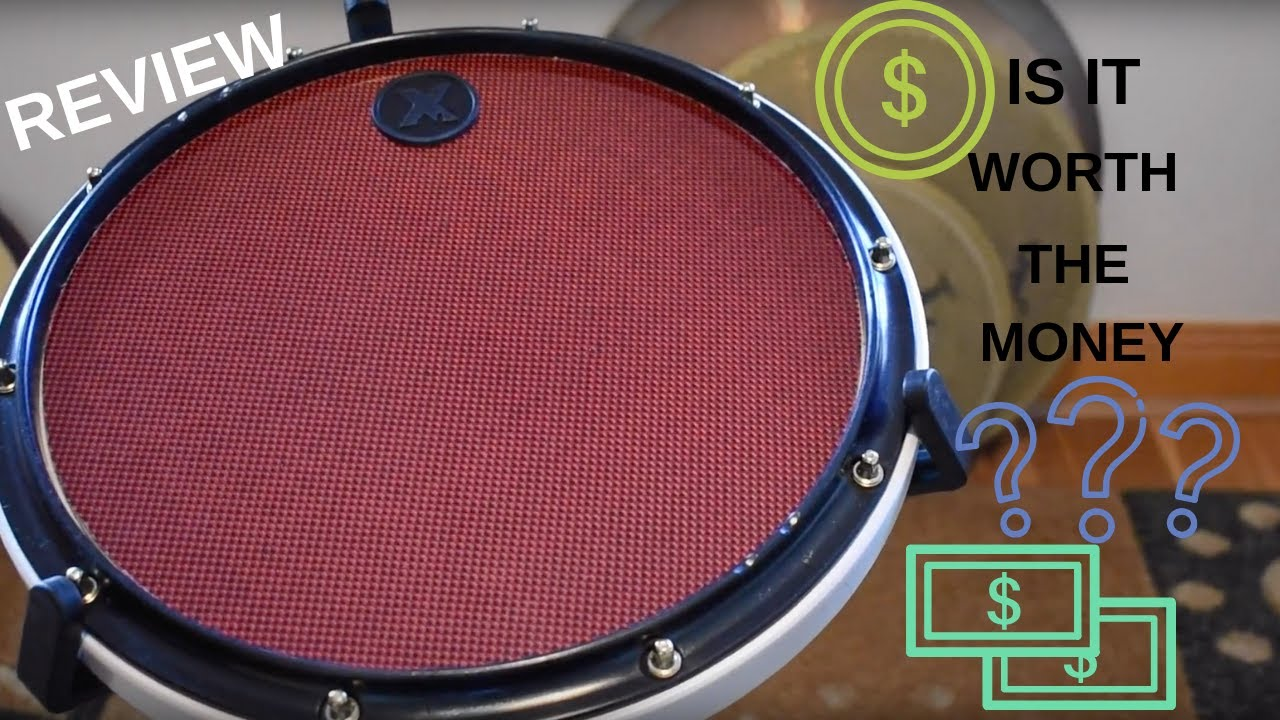 xymox drum pad review youtube. Black Bedroom Furniture Sets. Home Design Ideas