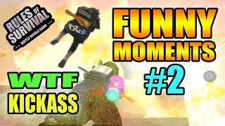 Rules of Survival Funny Moments - Wakfu #2