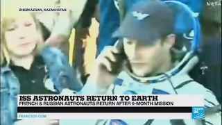 Thomas Pesquet back to Earth   Post mission rehabilitation is really important