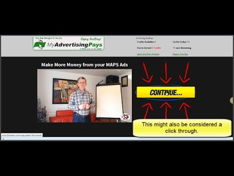 My Advertising Pays - Traffic Exchange Credits and CTR