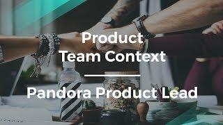 كيفية إنشاء الفريق المنتج السياق من قبل باندورا المنتج يؤدي