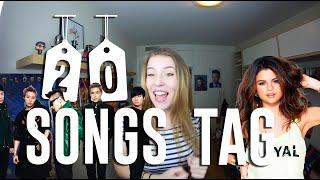 20 SONGS TAG | Julia Compton