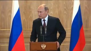Путин о падении курса российского рубля