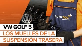 Reemplazar Muelles VW GOLF: manual de taller