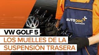 Montaje Muelle de chasis delanteras y traseras VW GOLF: vídeo manual