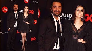 Shraddha Kapoor With Brother Siddhanth Kapoor At GQ Best Dressed 2017 Party