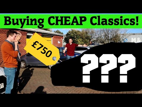Buying CHEAP Classic Cars!