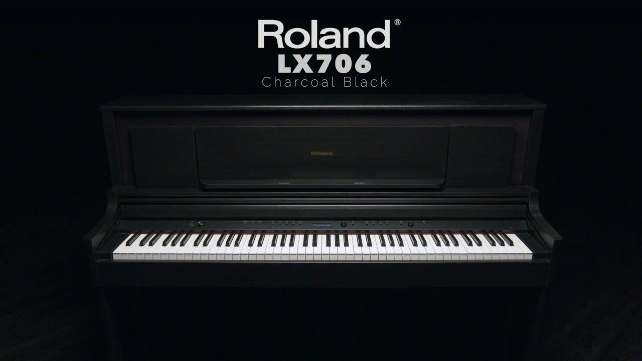 Đàn Piano Điện Roland LX706 - Nhạc Cụ Tiến Mạnh