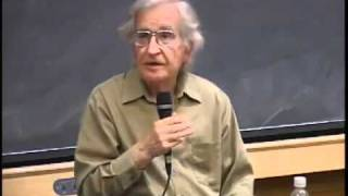 Noam Chomsky - On Social Cleansing, the
