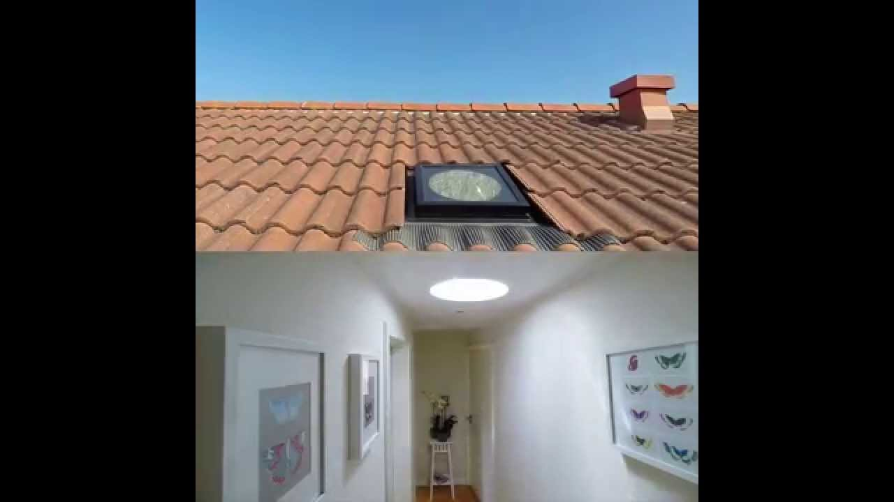 Velux velux twf twr youtube for What is a sun tunnel