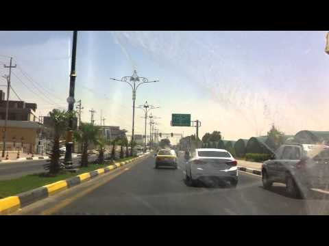 Car ride in basra iraq