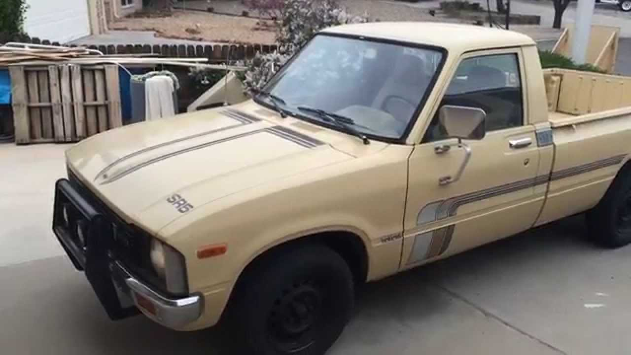 1980 toyota pickup 2wd sr5 youtube sciox Images