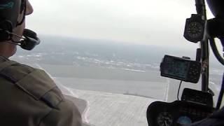 Падение R44 И Безопасная Посадка На Авторотации