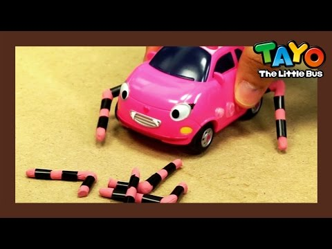 Heart, the Pink Spider with broken legs l Tayo's Toy Adventure #19 l Tayo the Little Bus