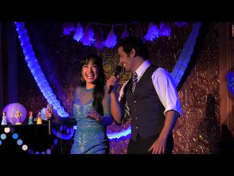 Courtney Reed & Adam Jacobs  A Whole New World Broadway Princess Party