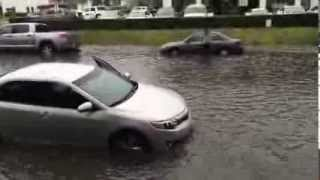 Flood in Orange County California