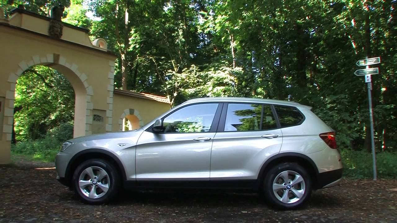 bmw x3 xdrive 20d f25 kompakt suv mit vollausstattung als jahreswagen youtube. Black Bedroom Furniture Sets. Home Design Ideas