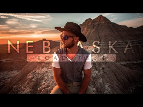 The Great Nebraska Road Trip 2018 - Cinematic Vlog