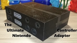 Making the Ultimate Nintendo Controller Adapter for PC!