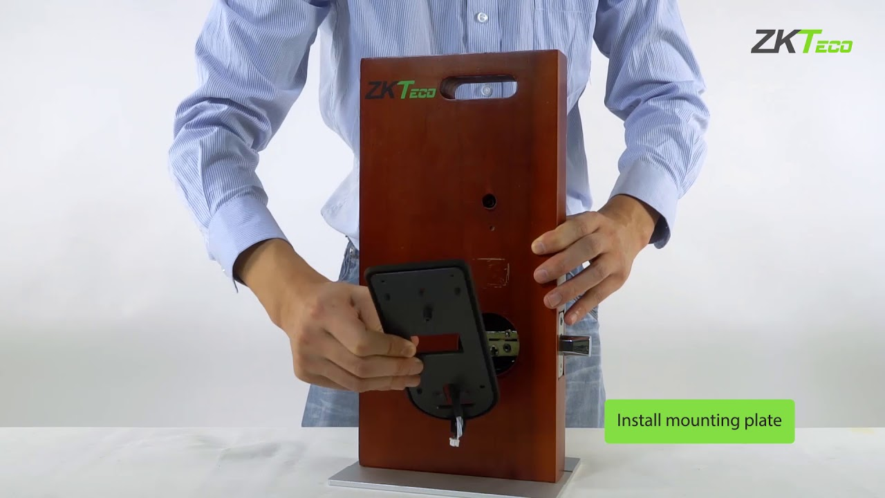 Smart Lock AL40B Installation Guide